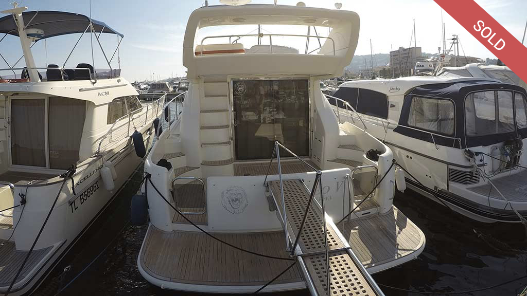 Azimut 42 second hand cannes